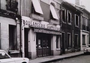 La première boutique de la Maison Mauranes artisans boulanger et pâtissier en 1960 à Montauban